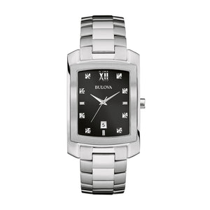 Bulova Men's 96D125 Diamond Watch | Overstock.com Shopping - The Best Deals on Bulova Men's Watches