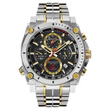 Bulova Men's 98B228 2-tone Stainless Steel Water-resistant Calendar Date Watch | Overstock.com Shopping - The Best Deals on Bulova Men's Watches
