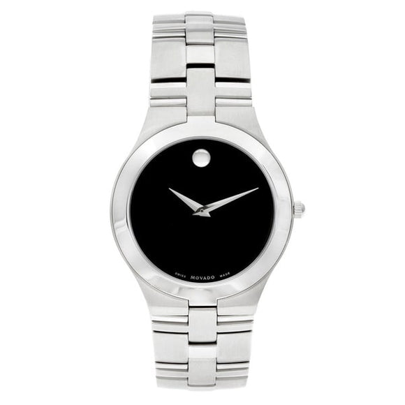 Movado 'Juro' Men's 0605023 or Women's 0605024 Stainless Steel Watch | Overstock.com Shopping - The Best Deals on Movado Men's Watches