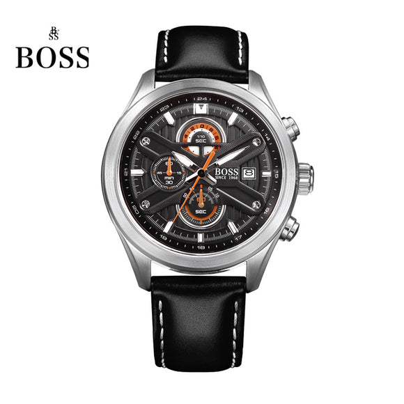 BOSS Germany watches men luxury brand speed master Nurburgring series Chronograph watch luminous  black relogio masculino
