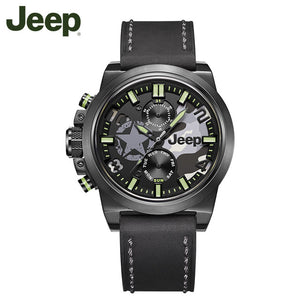 Jeep Original watches brand multifunctional waterproof outdoor sports men's luminous quartz watch JPW63801