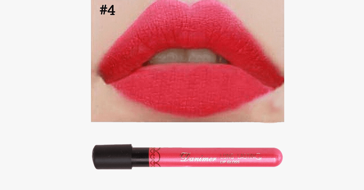 Matte Liquid Lipsticks- Gives Your Lips a Seamless Wrinkle-Free Look!