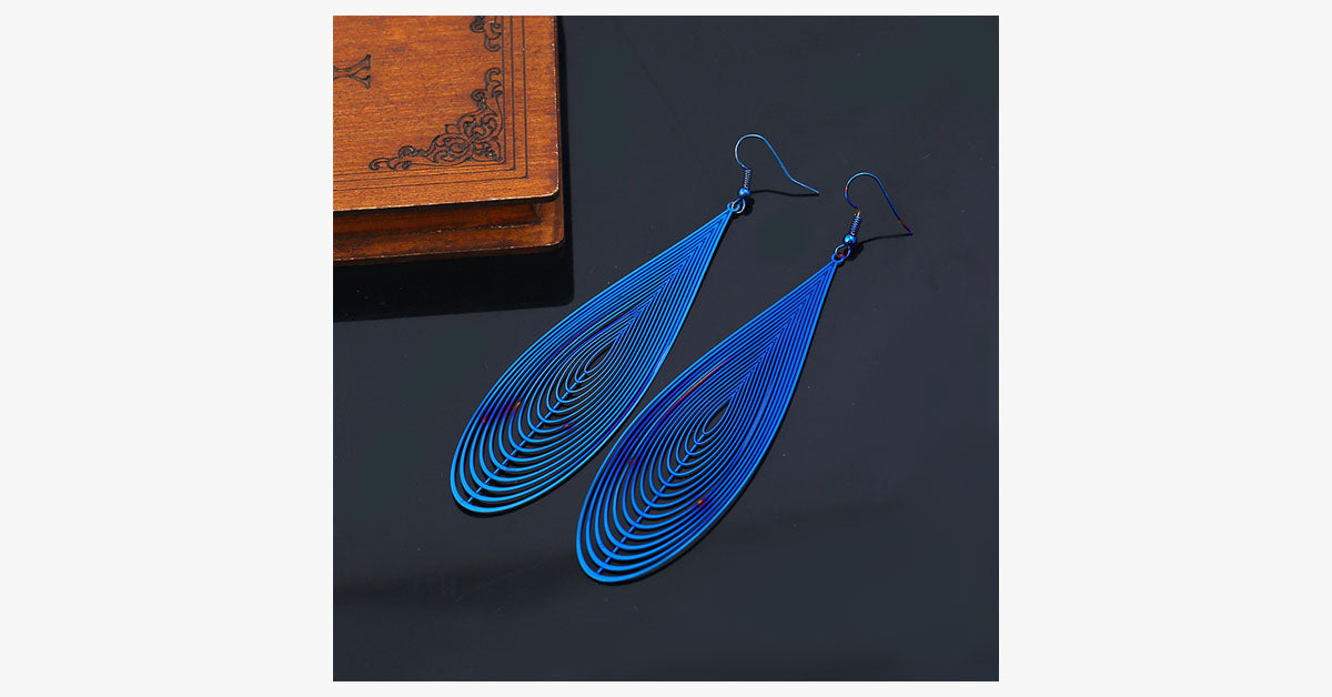 Earth Metal Earrings - FREE SHIP DEALS