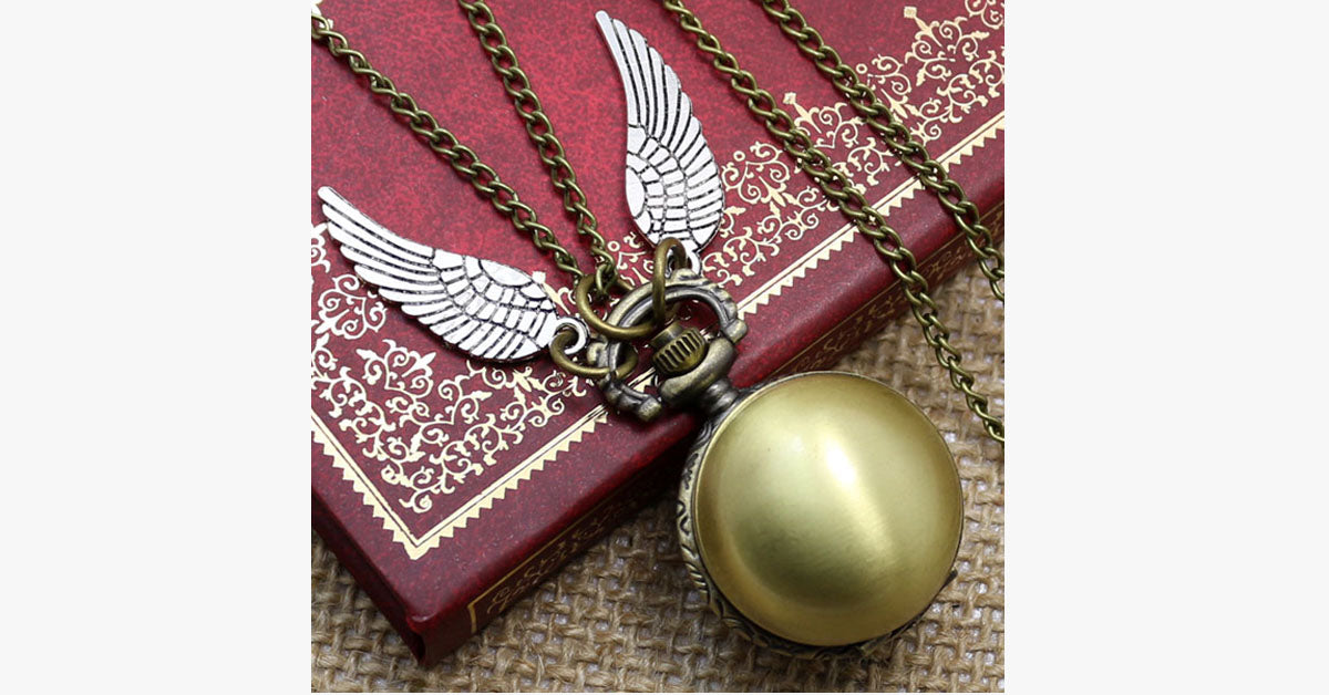 Magic Snitch Pocket Watch - FREE SHIP DEALS