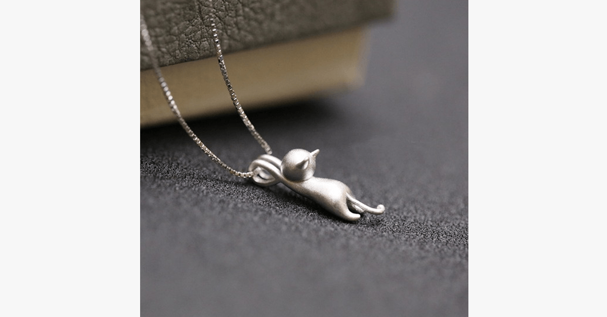 Climbing Cat Pendant - FREE SHIP DEALS