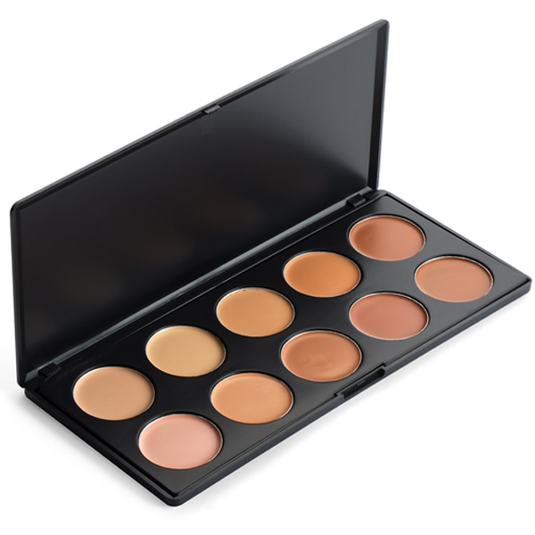 10 Color Concealer Makeup Palette