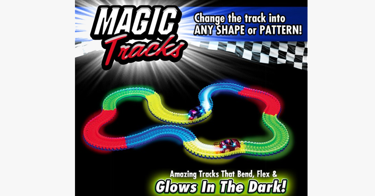 Magic Rainbow Racetrack - FREE SHIP DEALS