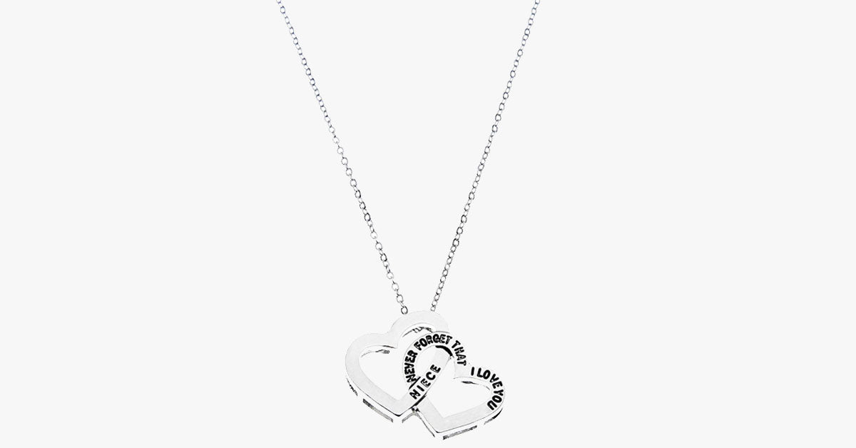 Never Forget That I Love You Pendant- Niece - FREE SHIP DEALS