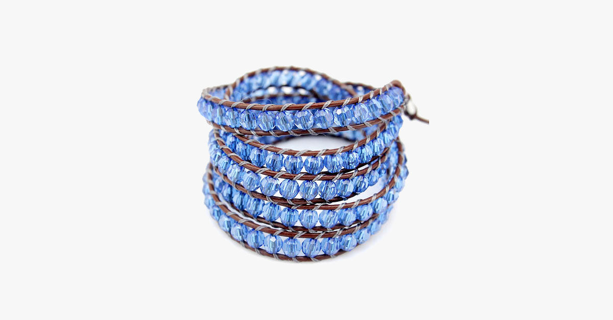 Blue Twist Vintage Bracelet - FREE SHIP DEALS