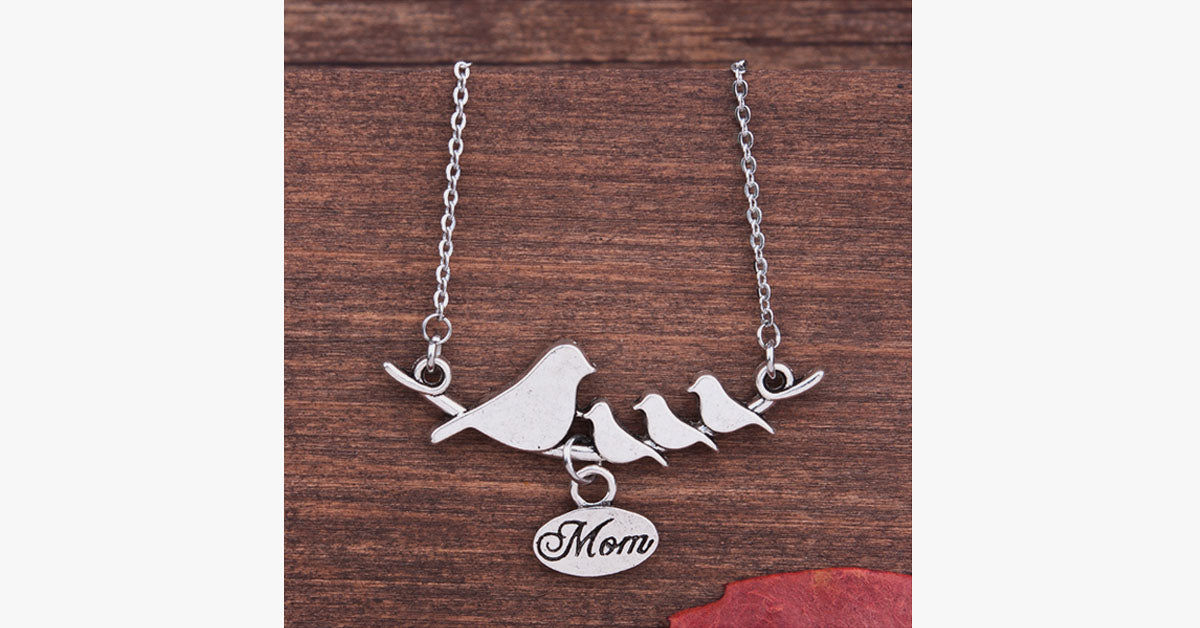 Momma Bird Necklace - FREE SHIP DEALS