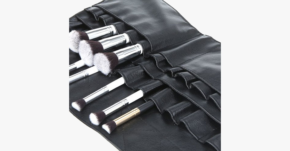 Professional Cosmetic Makeup Brush Apron - FREE SHIP DEALS
