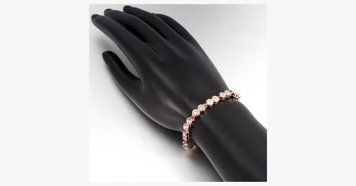 Cachet Crystal Tennis Bracelet - FREE SHIP DEALS
