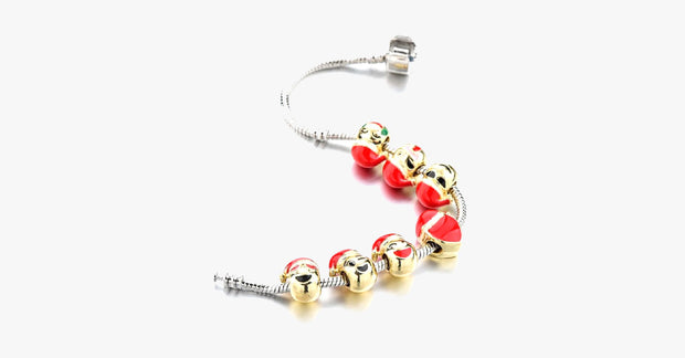 Christmas Emoji Charm Bracelet - FREE SHIP DEALS