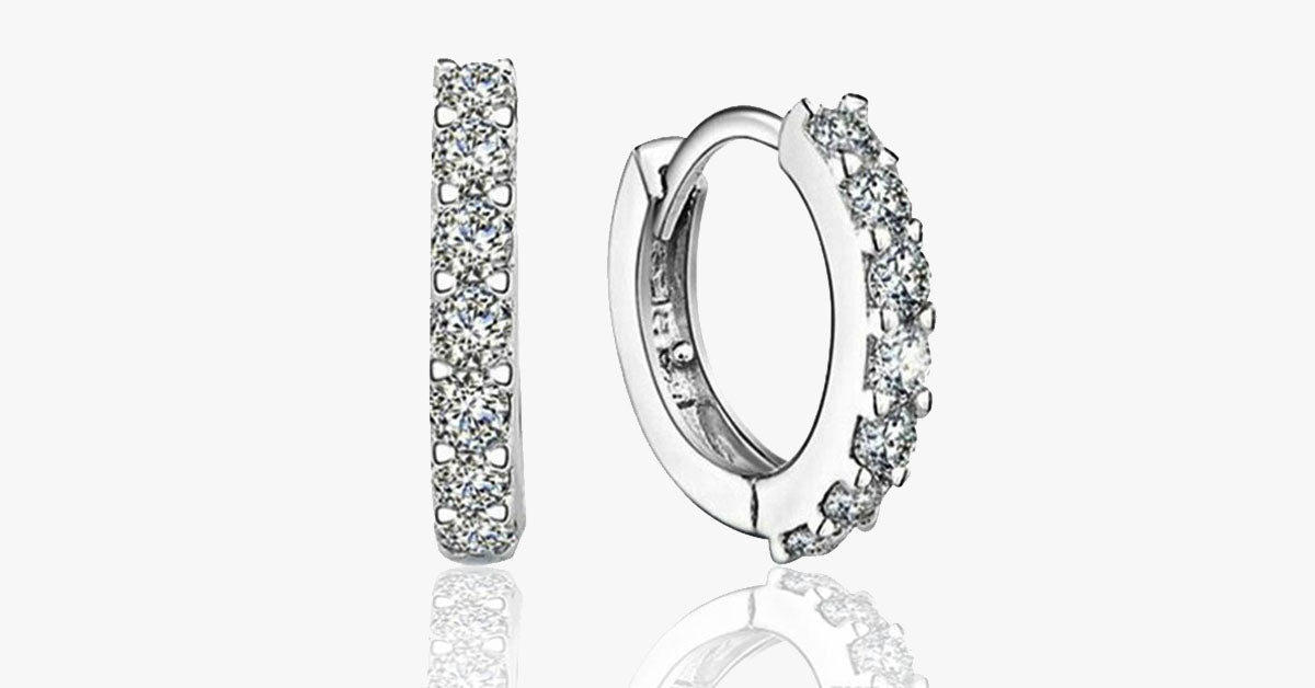 Hoop Earrings – Simple yet Classy – Can be worn with Both Formal and Casual Dresses