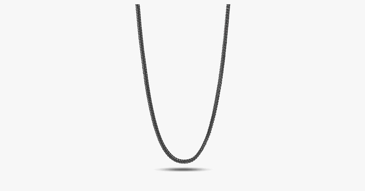 Black Rhodium Men's Chain - FREE SHIP DEALS