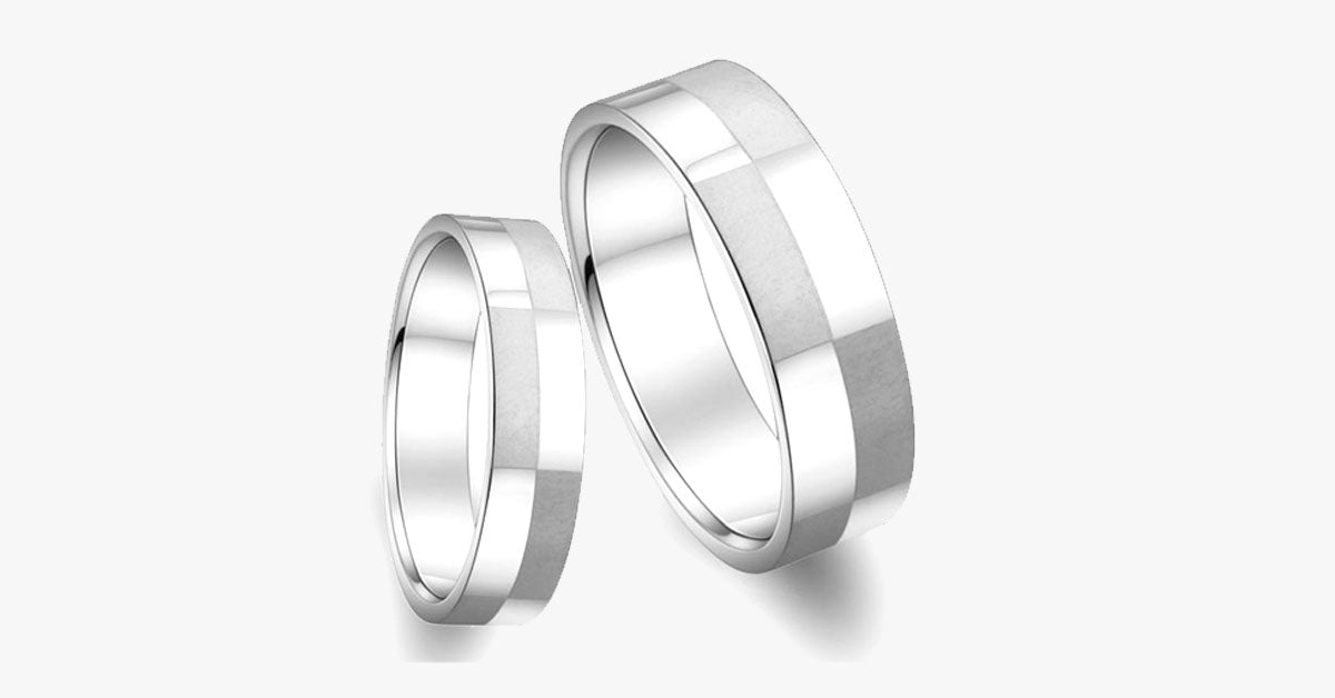 Elegant Silver Men's Ring - FREE SHIP DEALS