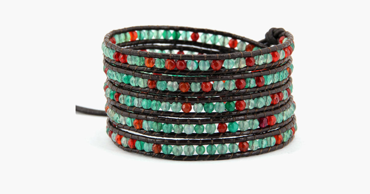 Irish Luck Wrap Bracelet