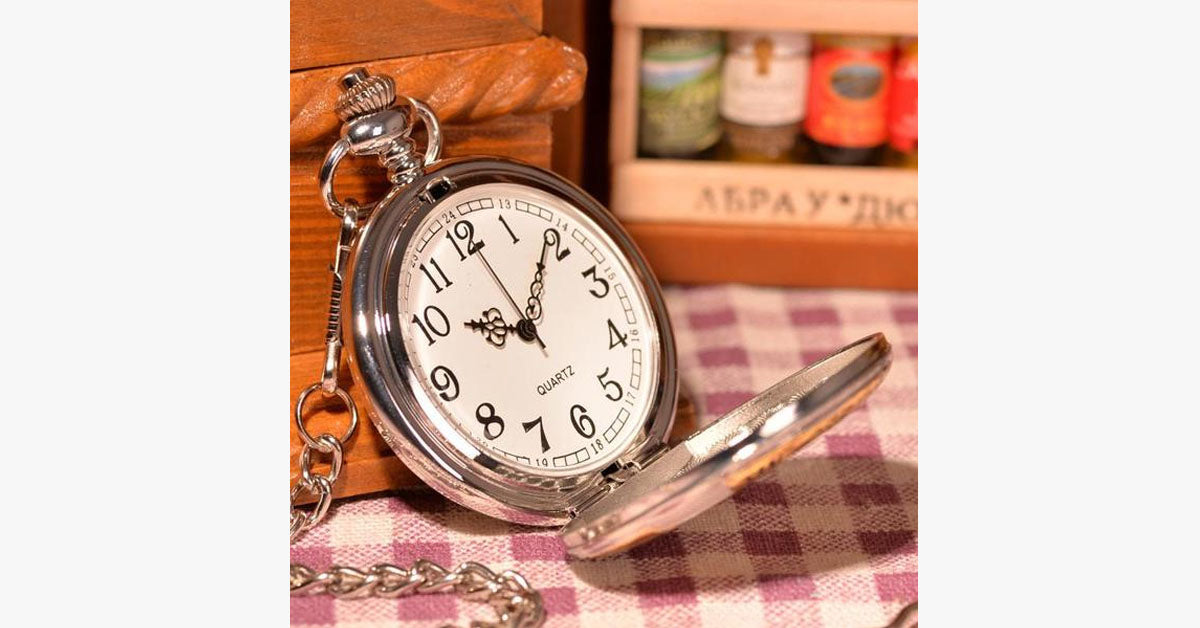 Greatest Dad Pocket Watch - FREE SHIP DEALS