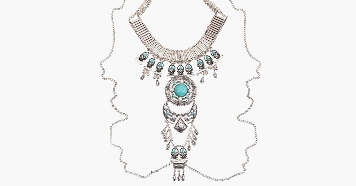 Izta Dream Tribal Necklace