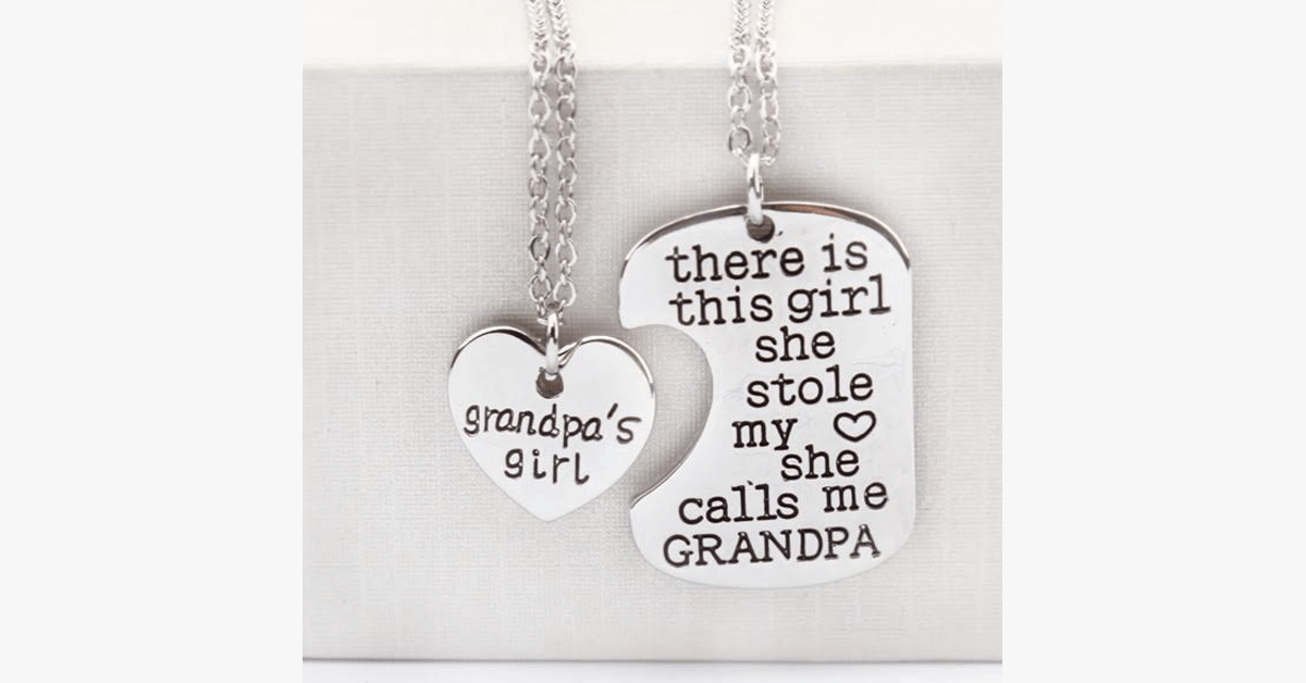 Grandpa's Girl Pendant - FREE SHIP DEALS