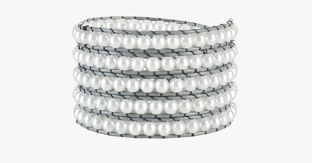 Snow Pearl Wrap Bracelet - FREE SHIP DEALS