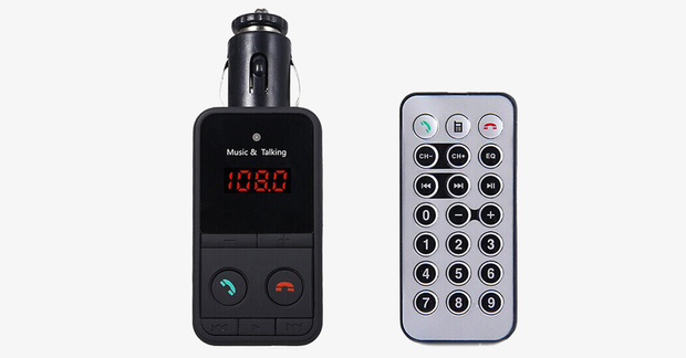 Hands-Free Car Kit FM Transmitter - FREE SHIP DEALS