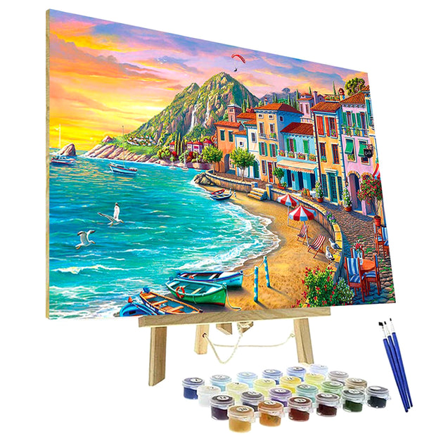 Paint By Numbers Kit - Wonderful Beach