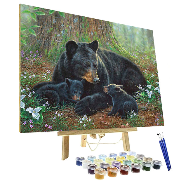 Paint By Numbers Kit - Tender moments