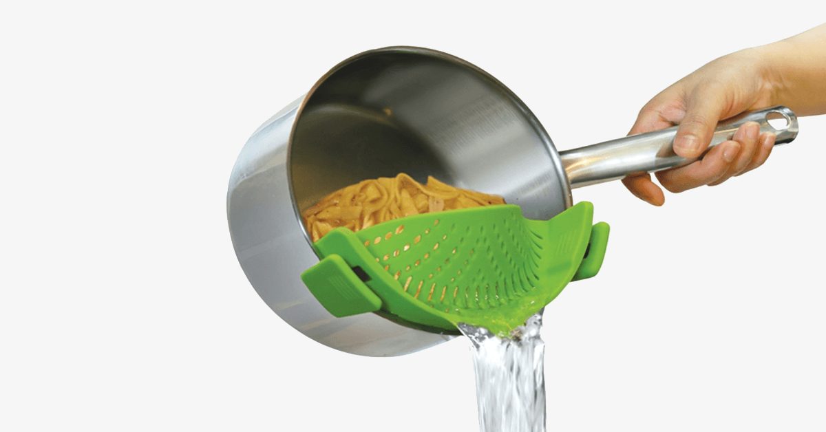Clip-On Silicone Strainer - FREE SHIP DEALS