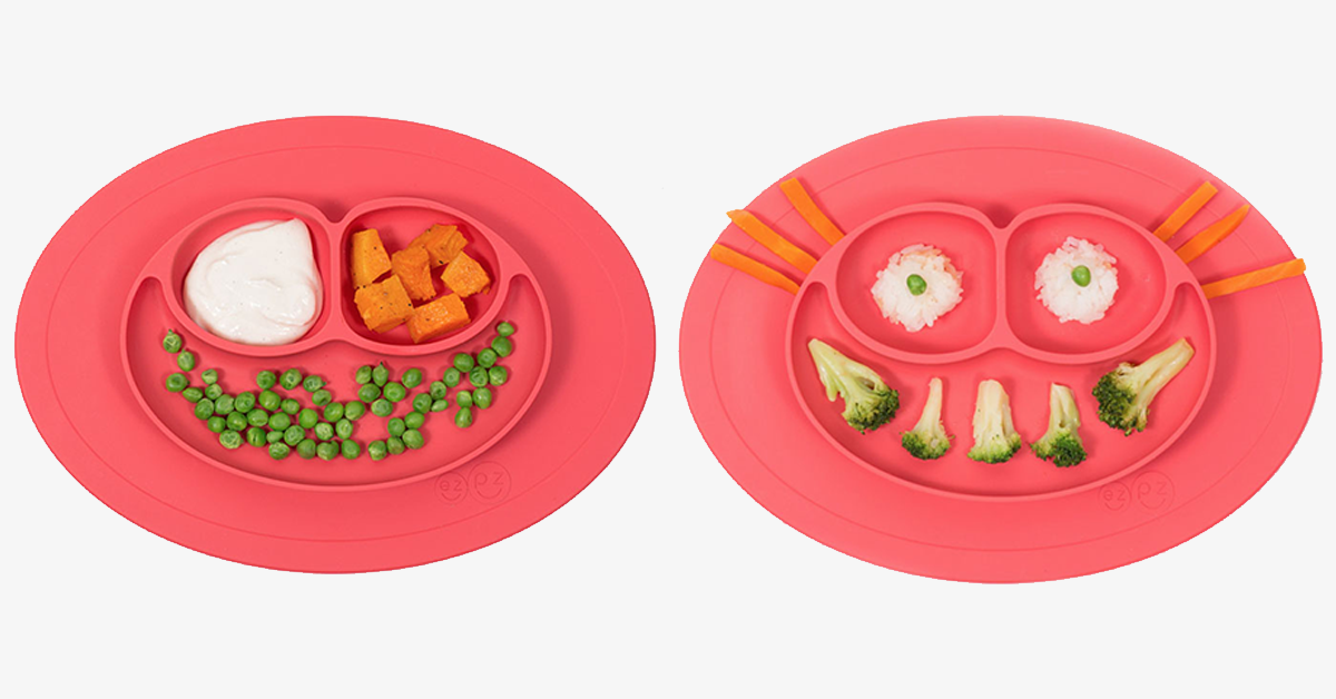 Feeding Placemat and 3-Section Plate – Bring In the Glam To Your Dining Table