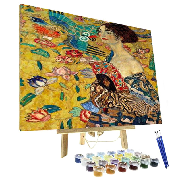Paint By Numbers Kit - Lady with Fan