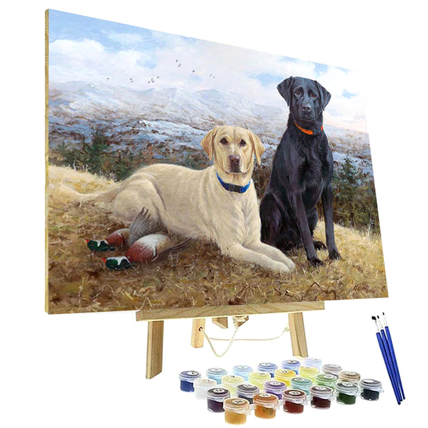 Paint By Numbers Kit - Knox and Lexi