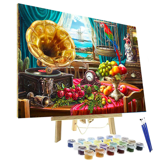 Paint By Numbers Kit - Still Life with Fruit