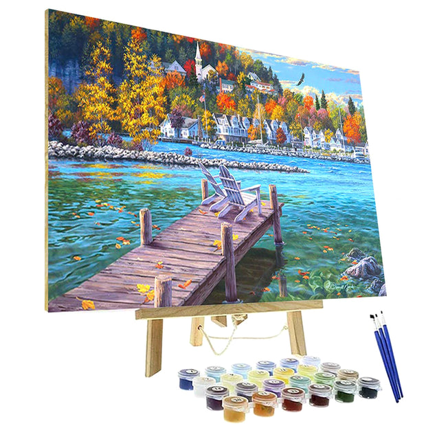 Paint By Numbers Kit - Fish Creek