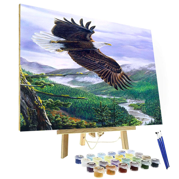 Paint By Numbers Kit - Soaring Spirit