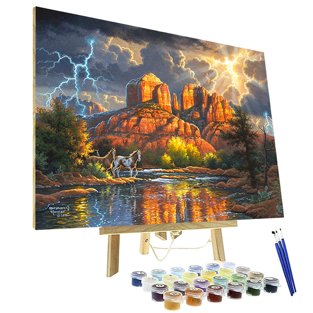 Paint By Numbers Kit - Sedona Majesty