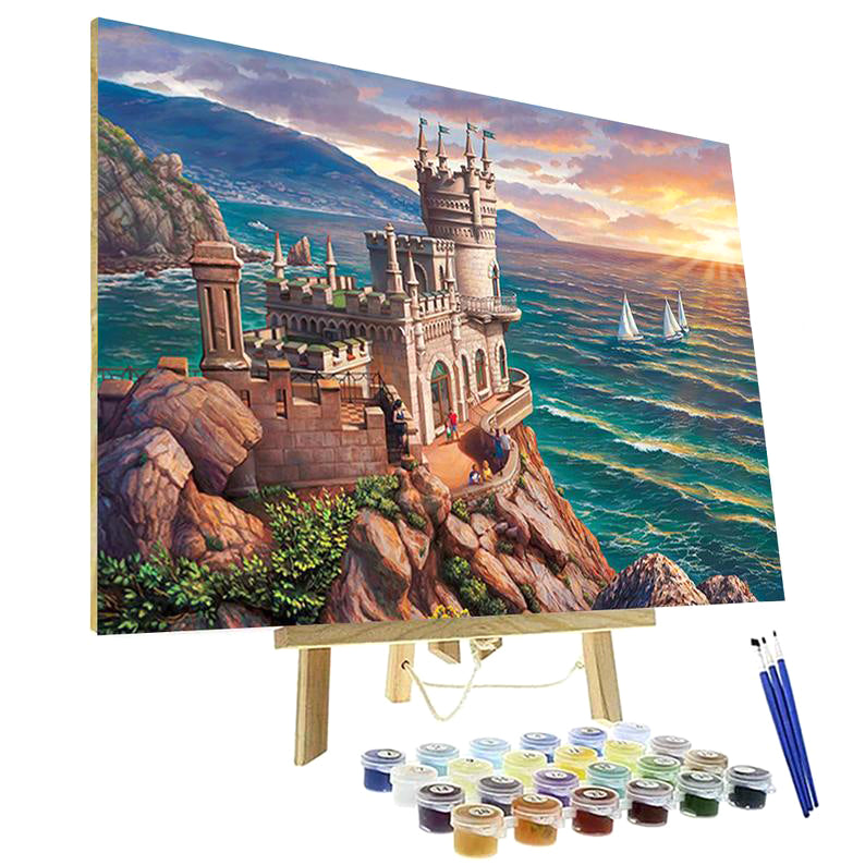 Paint By Numbers Kit - Crimea the Swallow's Nest