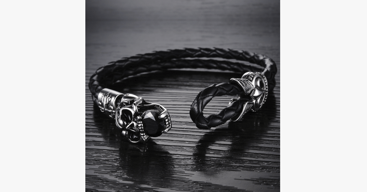 Dark Skull Men's Bracelet - FREE SHIP DEALS