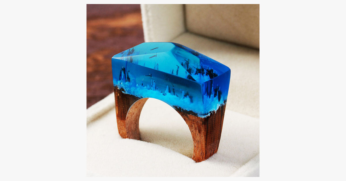 Enchanted Winter Forest Ring - FREE SHIP DEALS