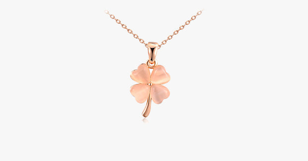 Clover Opal Necklace - FREE SHIP DEALS