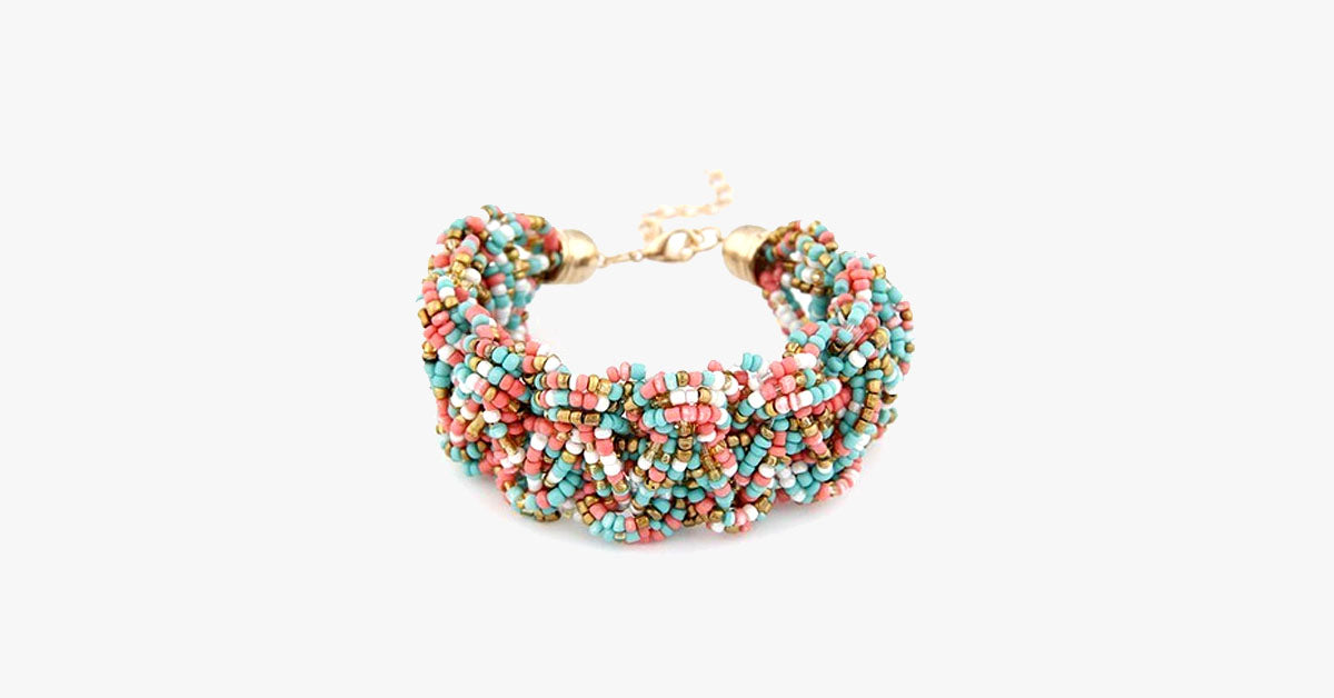Busy Grained Bracelet - FREE SHIP DEALS