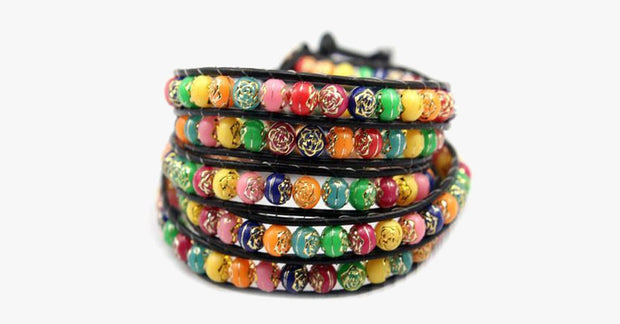 Rainbow Candy Wrap Bracelet - FREE SHIP DEALS