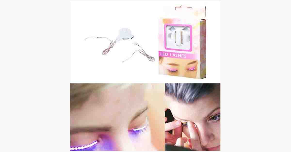 Waterproof LED Lashes - FREE SHIP DEALS