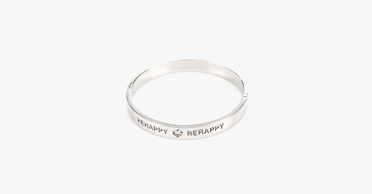 Be Happy Bangle - FREE SHIP DEALS