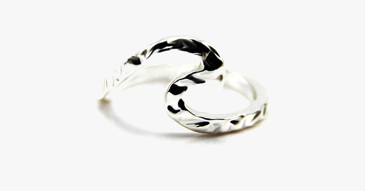 Single Wave Love Ring - FREE SHIP DEALS