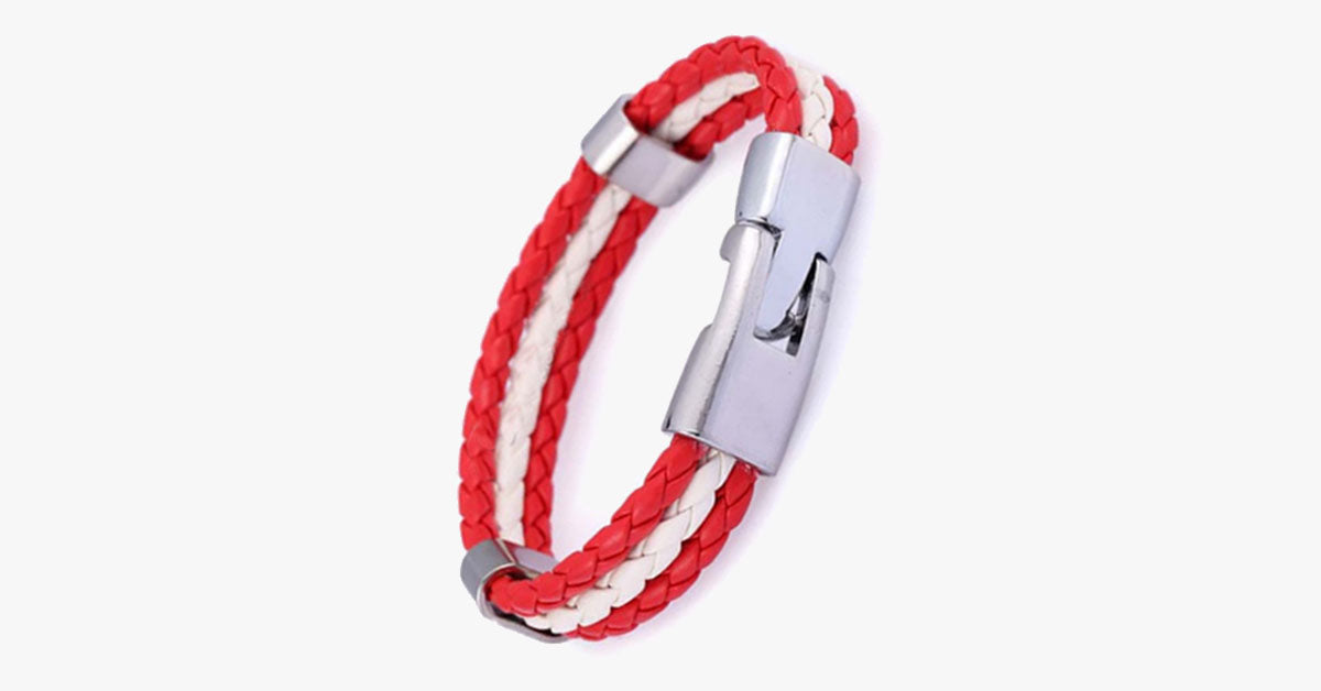 Team Austria Flag Bracelet
