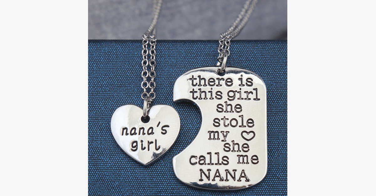 Nana's Girl Pendant Set - FREE SHIP DEALS