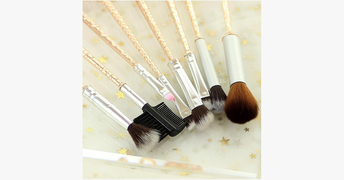 GOT Inspired 8 Piece Makeup Brush Set - FREE SHIP DEALS