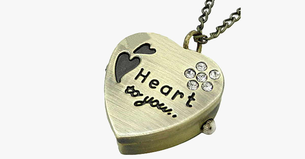 Heart Pocket Watch - FREE SHIP DEALS