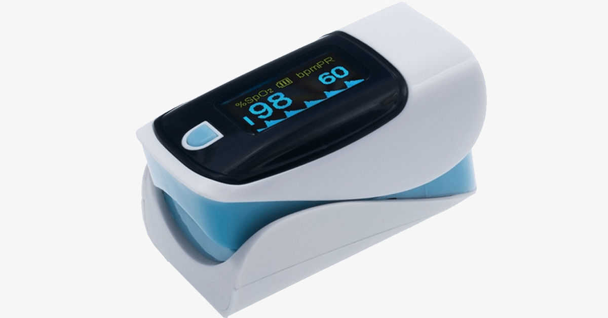 Advanced Finger Tip Pulse Oximeter with Neck and Wrist Cord - FREE SHIP DEALS